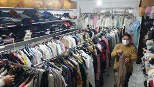 'İhtiyaç Evi'nde kıyafetler ücretsiz