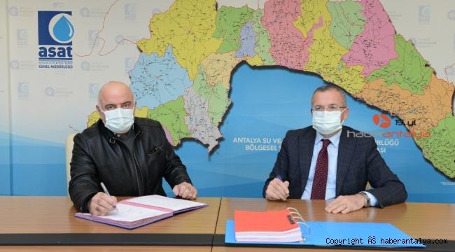 Manavgat'a 4 milyon Avro'luk kanalizasyon yatırımı