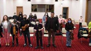 Müzik Akademisi'nde 'Masterclass' eğitimi