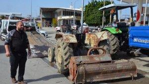 Sürücüsüz traktör 3 araca çarptı, 3 kişi de ölümden döndü