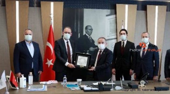 Antalya ve İstanbul büyükşehir belediyeleri arasında işbirliği