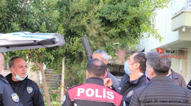 Antalya'da pompalı tüfekli ve sallama bıçaklı dehşet