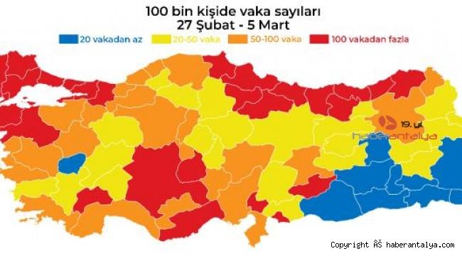 Antalya'da turuncu alarm devam ediyor