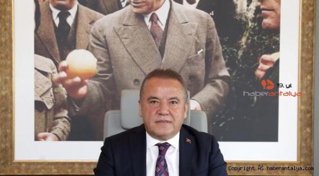 Başkan Böcek'ten Mustafa Kemal Atatürk mesajı !