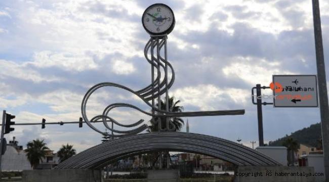 Gazipaşa'da Osmanlı tuğrası tartışması: Biz Osmanlı kasabası değiliz !