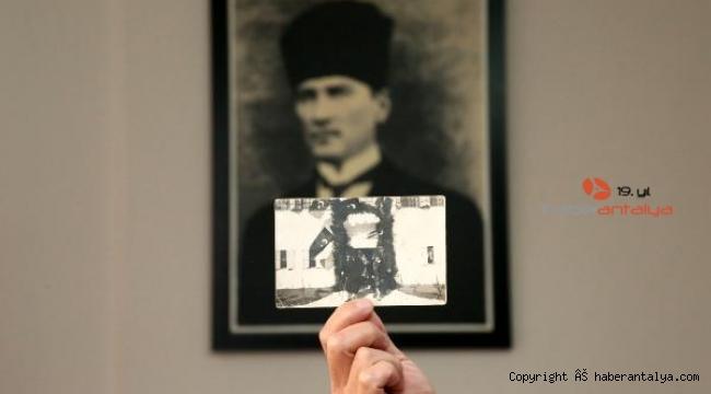 İşte Atatürk'ün Antalya'daki orijinal fotoğrafı