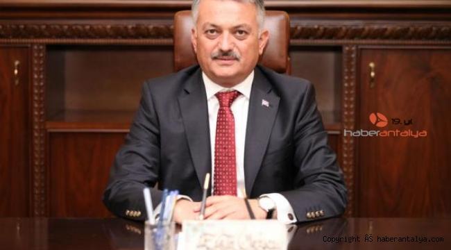 Vali Yazıcı'dan 8 Mart mesajı