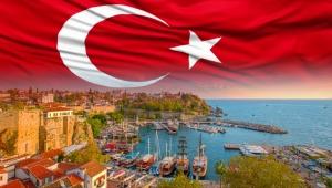 23 Nisan Antalya'da böyle kutlandı. Kortejler, bayraklar, marşlar coşkuya eşlik etti