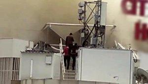 4 yıldızlı otelin çatısında yangın !