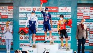 56'ncı Cumhurbaşkanlığı Türkiye Bisiklet Turu'nun Fethiye-Marmaris etabını Jasper Philipsen kazandı