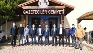 """""""Gazeteciler Antalya'nın tanıtılmasında büyük rol oynuyor"""""""