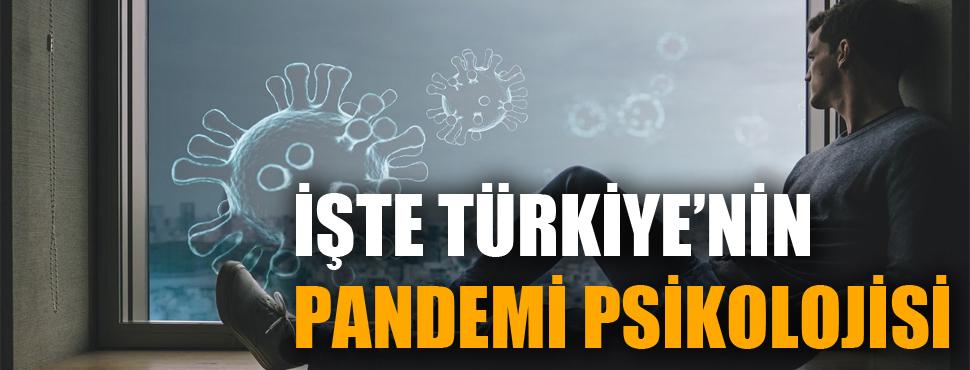 İşte Türkiye'nin 'pandemi psikolojisi'