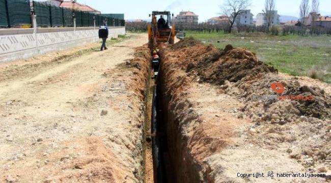 Korkuteli'de 4 mahallede içme suyu imalatı yapıldı
