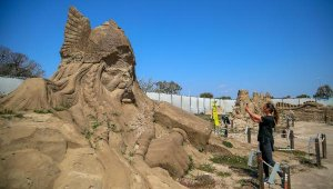 Kum heykeller bu sene Atlantis'i canlandıracak