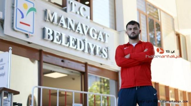 Manavgat'ın güreşçisi Efe milli takımda