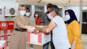Rektör Özkan'dan organ nakli olan ve nakil bekleyen hastalara ikram