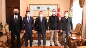 TSYD'den Vali Yazıcı'ya ziyaret