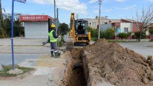 3 mahallede içme suyu şebeke hattı yenilendi