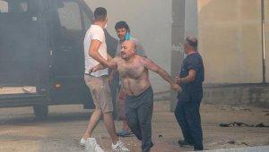 Antalya'da korkutan yangın. Hasar büyük !