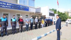 Başkan Ulutaş, personeliyle bayramlaştı