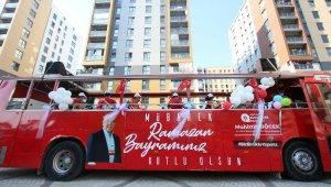 Büyükşehir'in Bayram Neşesi Mobil Konserleri tüm hızıyla devam ediyor