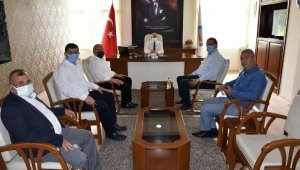 CHP'li heyetten Serik'te ziyaretler