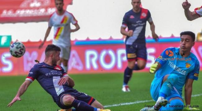 Fraport TAV Antalyaspor - Göztepe: 2-3. İşte maçtan notlar
