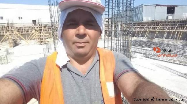 İnşaat işçisinin feci ölümü !