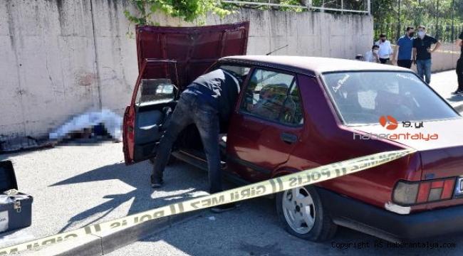 Kaldırımda otururken, lastiği patlayan otomobilin çarpmasıyla öldü !