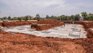Kepez'de 6 köy pazarının yapımı başladı