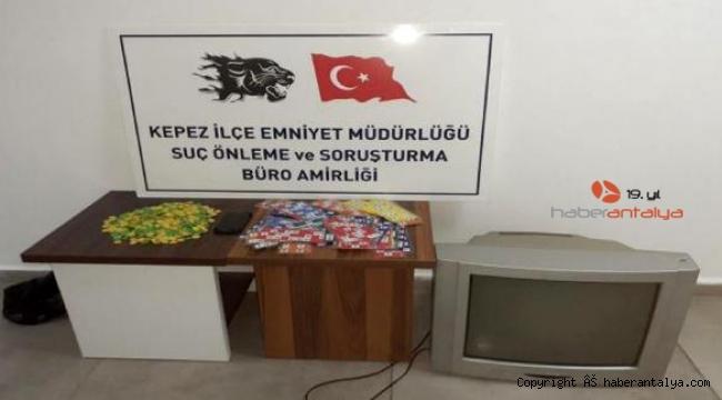 Kumar oynayan 17 kişiye 71 bin 376 lira ceza !