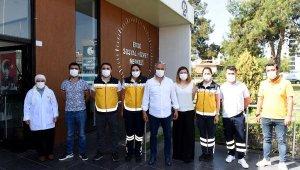 Muratpaşa Belediyesi hizmet için evlerde olacak