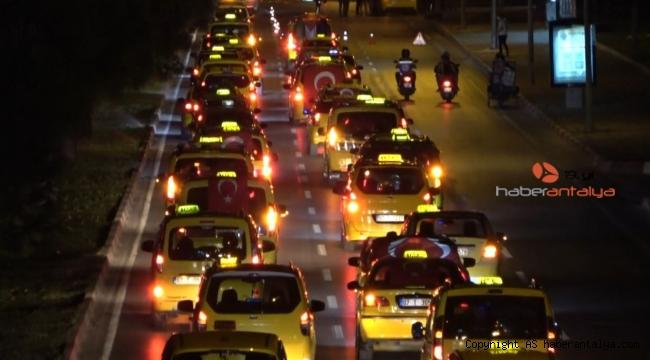 Onlarca kilometrelik İsrail'i kınama konvoyu