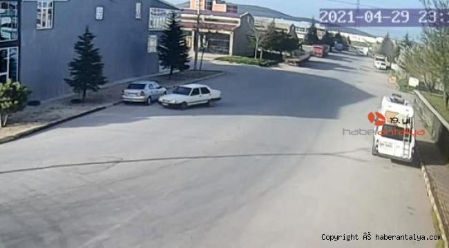 Sanayi sitesinde drift yapan sürücü ve araç sahibine 12 bin lira ceza