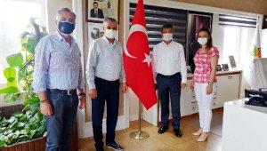 Sarıkaya'dan Başkan Topaloğlu'na ziyaret