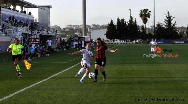 Turkcell Kadınlar Futbol Ligi'nde şampiyon Beşiktaş