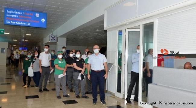 Antalya'da aşılama 1.5 milyona yaklaştı