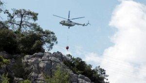 Antalya'da yine orman yangını !