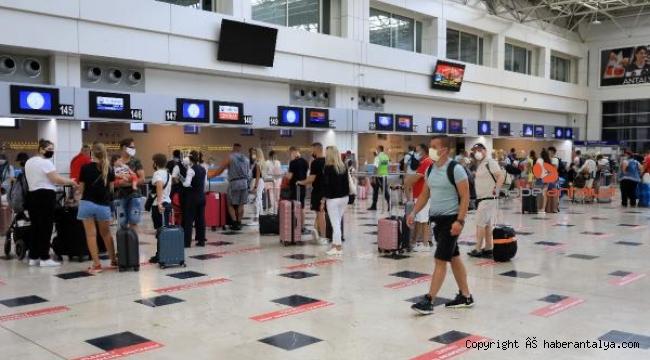 Antalya'ya turist yağacak