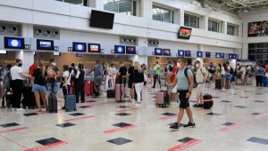 Antalya'ya 5 ayda 747 bin turist geldi
