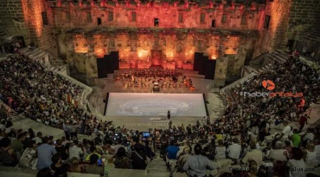 Aspendos Festivali Eylül'de
