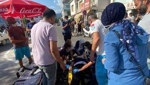 Demre'de kaza; 14 yaşındaki çocuk yaralı