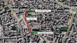 Doğu Garajı'nda 1343. Sokak trafiğe kapatıldı