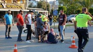 Gazipaşa'da kaza: 2 yaralı !