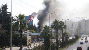 Kablolarda başlayan yangında trafo yandı