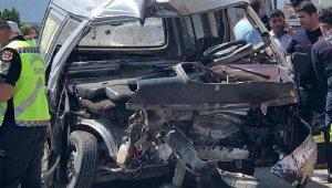 Kaş'ta feci kaza; 1 yaralı