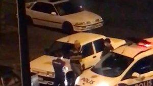 Kendini bilmezden polise tehdit: Seni ya da çocuklarını bulup hesap soracağım