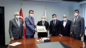 KUTSO ve Batı Antalya heyeti Bakan Varank'la bir araya geldi