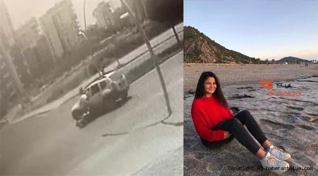 Motosikletin sürücüsü genç kız ağır yaralı !