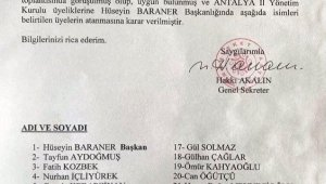 Muharrem İnce'nin Memleket Partisi'nin Antalya kadrosu !